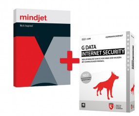MindManager 15 (Windows) & GData Internet Security 2015 (Jahreslizenz)