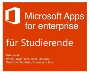 Microsoft Office 365 ProPlus für Studierende Bereitstellungsgebühr ab 3,99 € max. 4,99 € inkl. MwSt